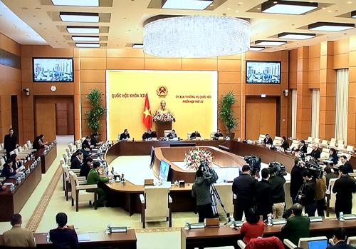 Ủy ban Thường vụ Quốc hội quyết định nhiều nội dung quan trọng