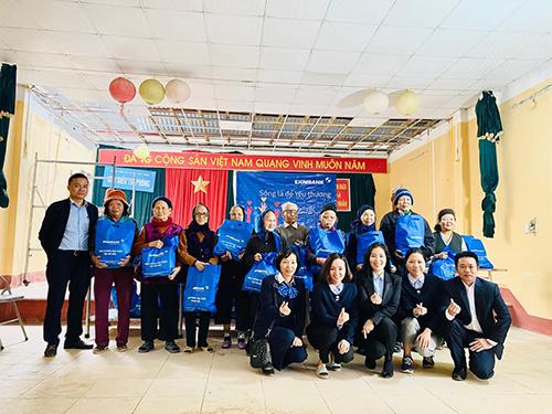 Eximbank đẩy mạnh hoạt động hỗ trợ cộng đồng