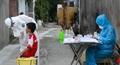 Bắt đầu lấy mẫu xét nghiệm người dân thôn Lỗ Giao