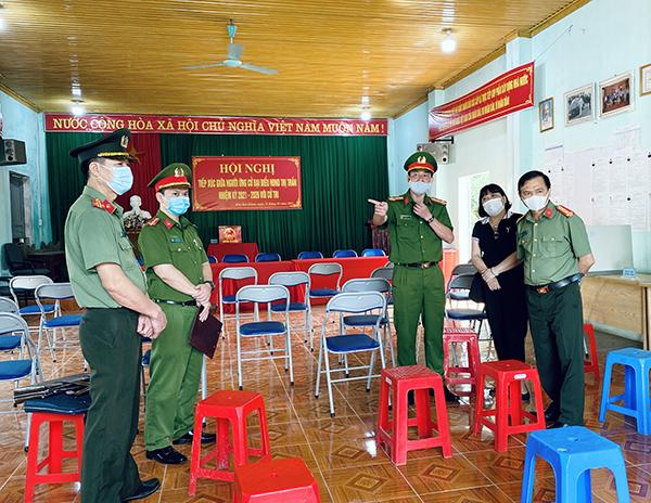 Giám đốc Công an tỉnh Lạng Sơn kiểm tra công tác chuẩn bị bầu cử - Ảnh minh hoạ 3