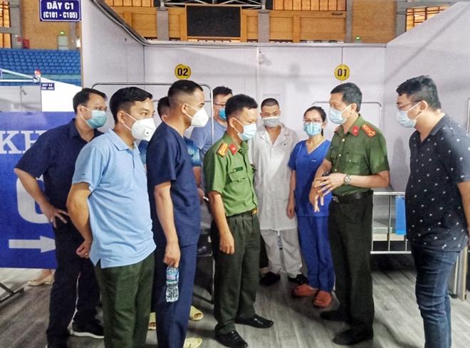 Bệnh viện Dã chiến số 2 tại Bắc Giang do y tế CAND đảm trách đã sẵn sàng - Ảnh minh hoạ 6