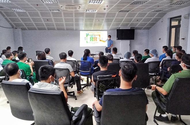 Bệnh viện Dã chiến số 2 tại Bắc Giang do y tế CAND đảm trách đã sẵn sàng - Ảnh minh hoạ 7