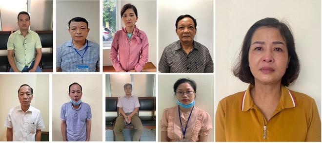 Khởi tố Giám đốc Sở Giáo dục và Đào tạo Thanh Hoá cùng 8 đồng phạm