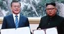 Lãnh đạo Triều Tiên và Hàn Quốc đặt bút ký Tuyên bố chung