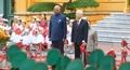 Lễ đón chính thức Tổng thống Ấn Độ tại Hà Nội