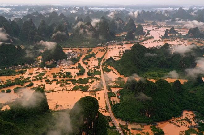 Mưa Lớn Keo Dai Trung Quốc Co Thể Lại đieu đứng Vi Lũ Lụt Bao Cong An Nhan Dan điện Tử