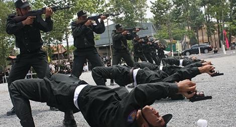 Bộ Tư lệnh Cảnh sát cơ động triển khai công tác huấn luyện năm 2017