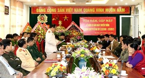 CSĐT tội phạm về ma túy Công an tỉnh Hà Tĩnh: Lập công xuất sắc