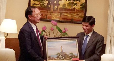 Thứ trưởng Nguyễn Văn Thành thăm và làm việc tại Nhật Bản
