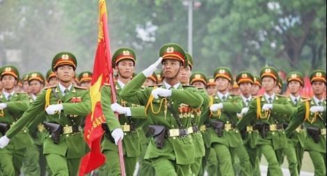 Lực lượng CAND phát động Đợt thi đua đặc biệt báo công dâng Bác