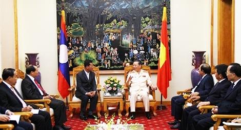 Tăng cường hợp tác an ninh Việt - Lào