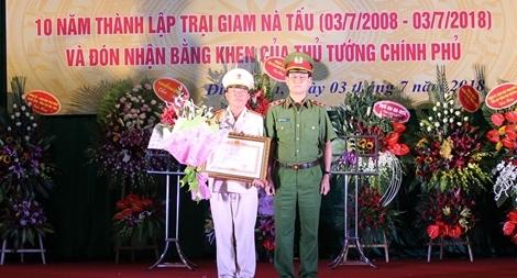 Trại giam Nà Tấu kỷ niệm 10 năm thành lập