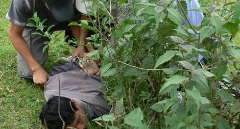 Truy bắt tội phạm nhiễm HIV, 2 cán bộ Công an bị thương1