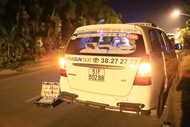 Trắng đêm bắt nóng kẻ cứa cổ lái taxi cướp tiền