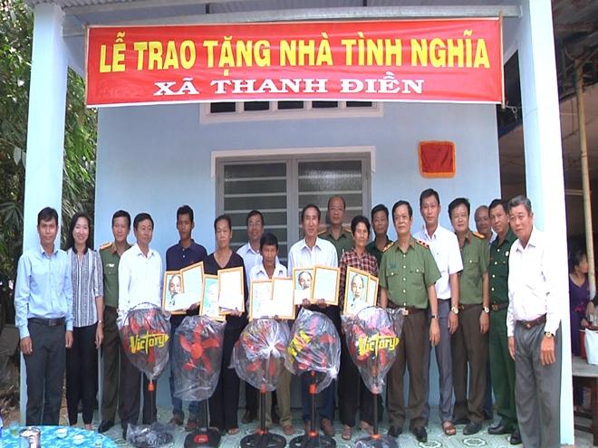 Tổng cục Hậu Cần - Kỹ Thuật tặng nhà tình nghĩa tại Tây Ninh