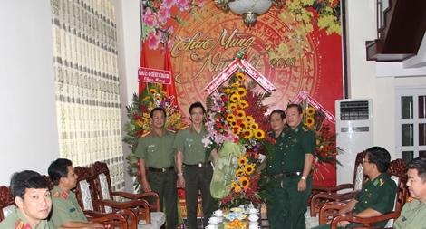 Công an Tây Ninh chúc mừng ngày truyền thống Bộ đội Biên phòng