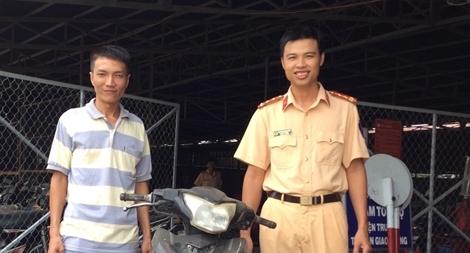 Gian nan tìm lại xe máy cho người dân sau 3 năm bị trộm