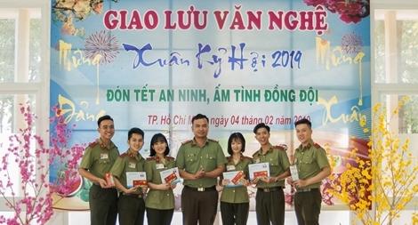 """Sôi nổi hoạt động """"Mừng Đảng, mừng Xuân"""" của hơn 350 sinh viên An ninh"""