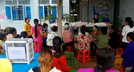 Bếp ăn nhân ái cho bệnh nhân nghèo vùng biên