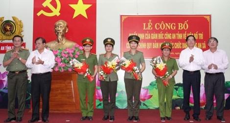 """Những """"bóng hồng"""" Công an Tây Ninh xung phong về xã"""