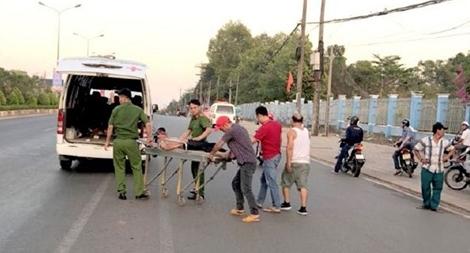 Kịp thời cứu giúp nạn nhân trên đường công tác