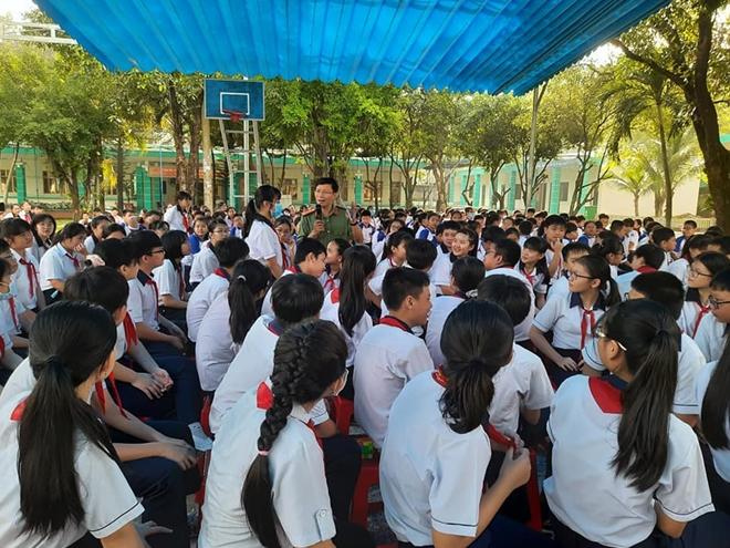 Nâng cao kiến thức phòng chống bạo lực học đường cho 500 học sinh - Ảnh minh hoạ 2