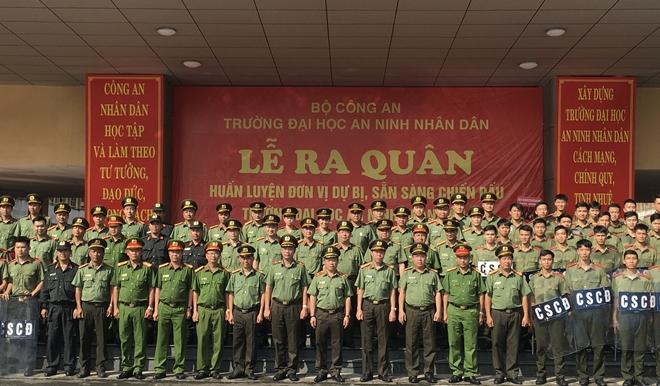 Ra quân huấn luyện đơn vị dự bị chiến đấu Đại học ANND - Ảnh minh hoạ 2