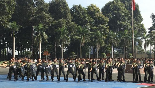 Ra quân huấn luyện đơn vị dự bị chiến đấu Đại học ANND - Ảnh minh hoạ 3
