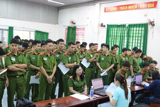 Hơn 450 giảng viên, học viên Cảnh sát hiến máu nghĩa tình vì đồng đội - Ảnh minh hoạ 3