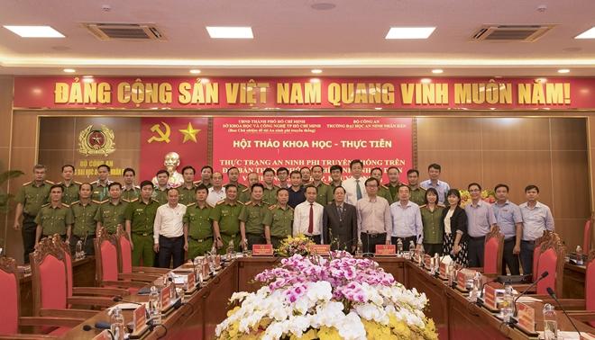 Nhận diện thực trạng an ninh phi truyền thống trên địa bàn TP Hồ Chí Minh