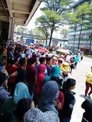 Hàng ngàn công nhân phản đối Công ty Pouchen VN về cách tính lương mới