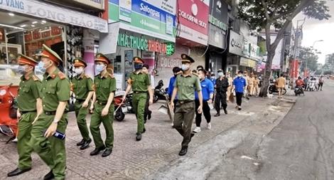 """Tuổi trẻ Công an TP Hồ Chí Minh ra quân """"Ngày cao điểm tình nguyện"""""""