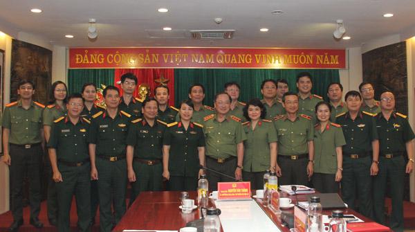 Hoàn thiện Đề án tổ chức và hoạt động các tổ chức đoàn thể chính trị - xã hội trong CAND