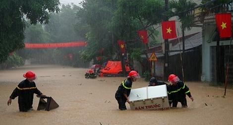 Lực lượng Công an chủ động ứng phó với mưa, lũ và sạt lở đất