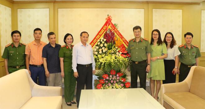 Tỉnh ủy Thanh Hóa chúc mừng cán bộ, chiến sĩ Công an - Ảnh minh hoạ 2