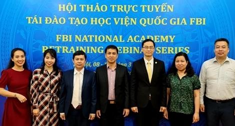 Hội thảo trực tuyến Cục Đối ngoại và Cơ quan Điều tra Liên bang Hoa Kỳ