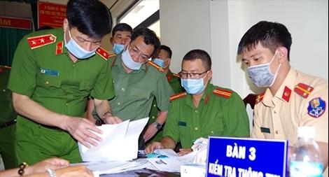 Thứ trưởng Nguyễn Duy Ngọc kiểm tra công tác cấp thẻ CCCD