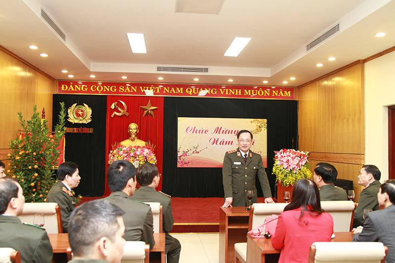 Thứ trưởng Nguyễn Văn Thành kiểm tra công tác ứng trực bảo đảm ANTT