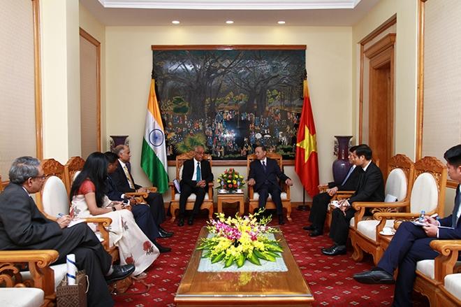 Việt Nam và Ấn Độ tăng cường hợp tác trong lĩnh vực an ninh