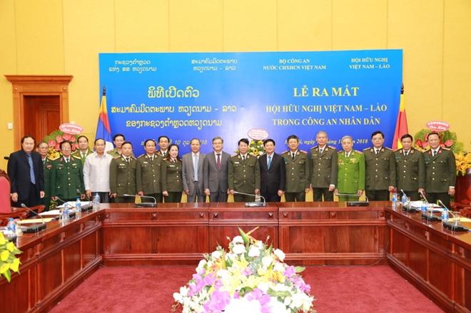 Ra mắt Hội Hữu nghị Việt Nam – Lào trong Công an nhân dân - Ảnh minh hoạ 4