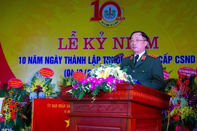 Trường Trung cấp CSND VI kỉ niệm 10 năm thành lập