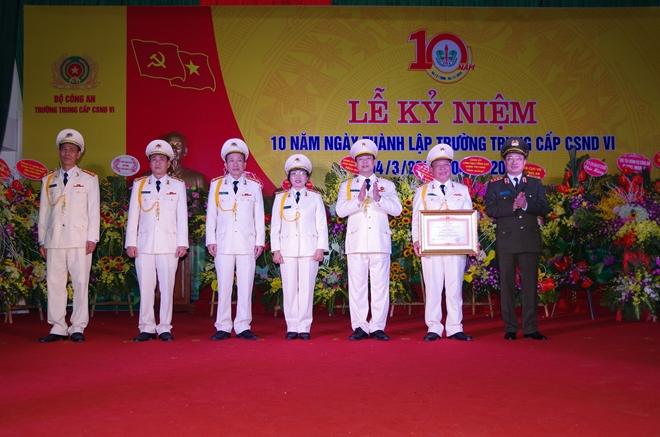 Trường Trung cấp CSND VI kỉ niệm 10 năm thành lập - Ảnh minh hoạ 3