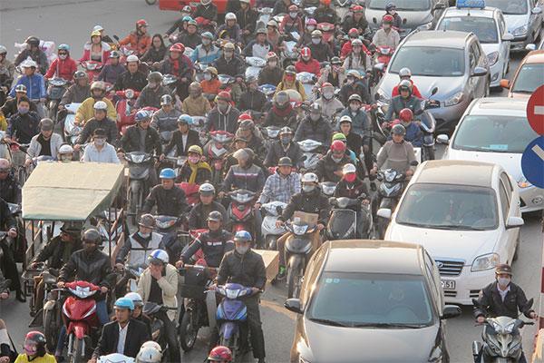 Hà Nội lên tiếng về phương án cấm xe máy vào năm 2025