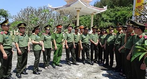 Nhiều hoạt động tình nghĩa tại đảo Lý Sơn
