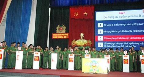 Hội thi Công tác nghiệp vụ cơ bản Cụm thi đua số 6, Công an TP Hà Nội