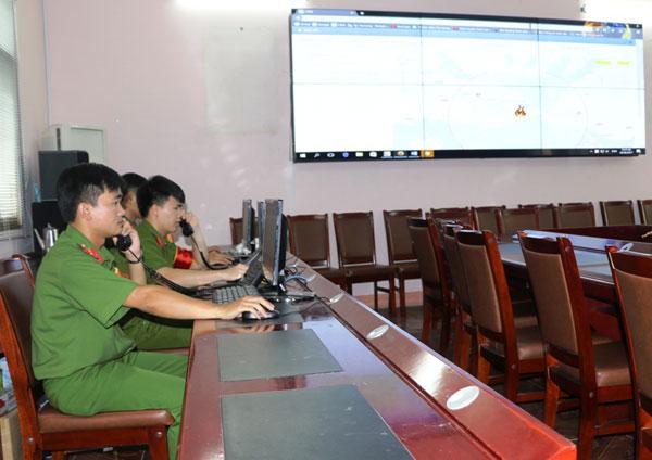 Ứng dụng công nghệ thông tin trong chỉ huy chữa cháy và CNCH