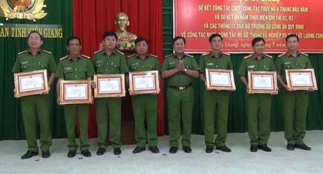 Cơ quan CSĐT Công an tỉnh Kiên Giang sơ kết công tác 6 tháng đầu năm 2017