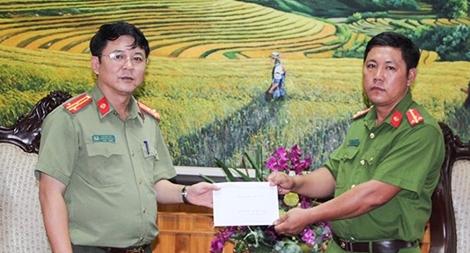 Tặng nhà cho cán bộ Công an Lai Châu có hoàn cảnh khó khăn