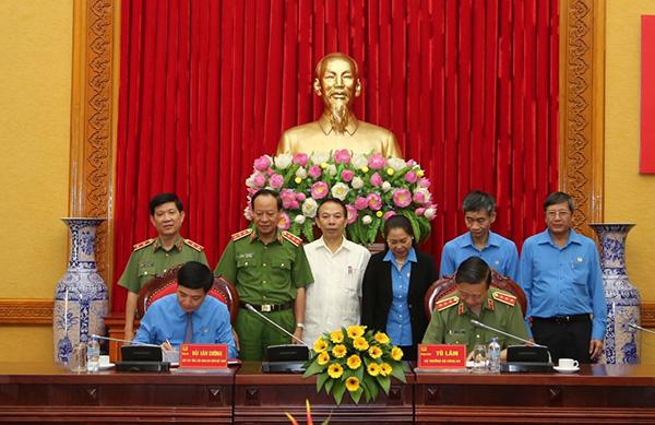 Bộ Công an ký Quy chế phối hợp với Tổng Liên đoàn Lao động Việt Nam1 - Ảnh minh hoạ 2
