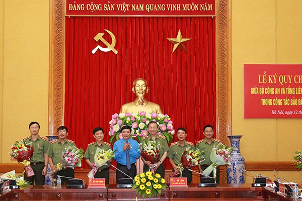 Bộ Công an ký Quy chế phối hợp với Tổng Liên đoàn Lao động Việt Nam1 - Ảnh minh hoạ 7